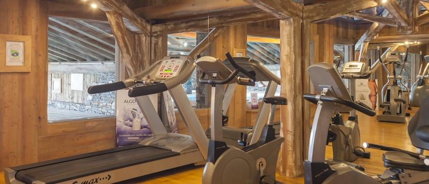 Residence les alpages de reberty - gym